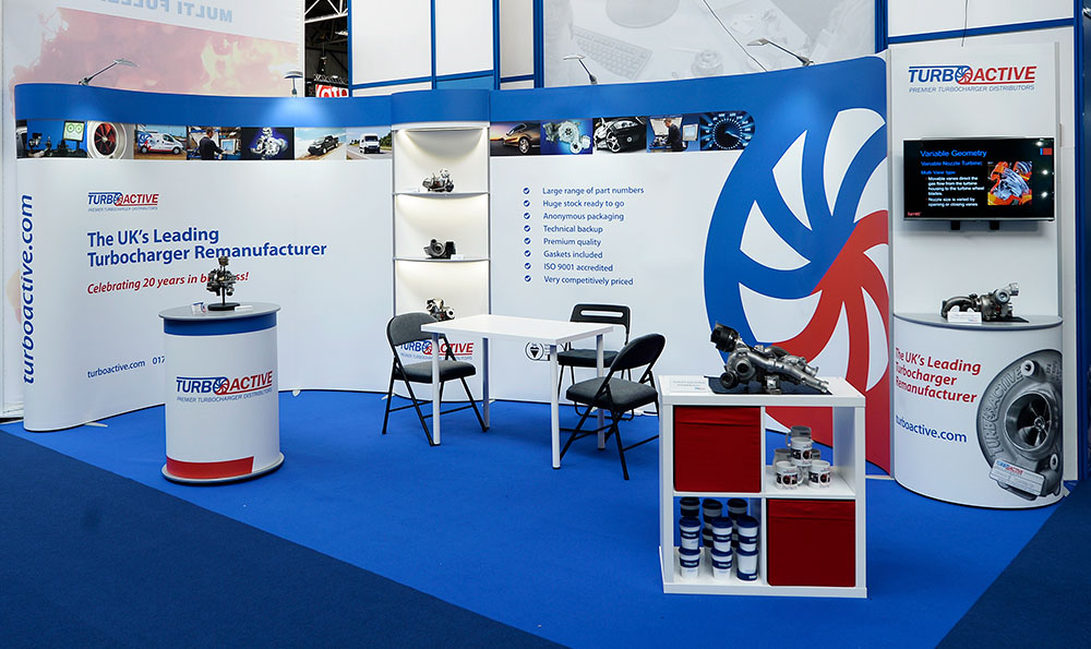Turbo Active Exhibition Stand