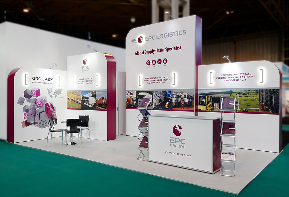 Exhibition Stand Logistics : Looking for inspiration? take a look at our recent projects