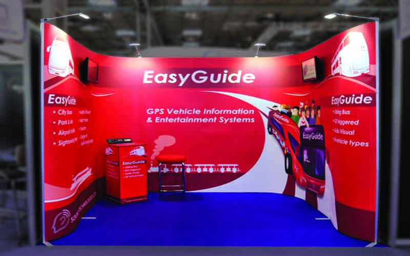 EasyGuide Exhibition Stand