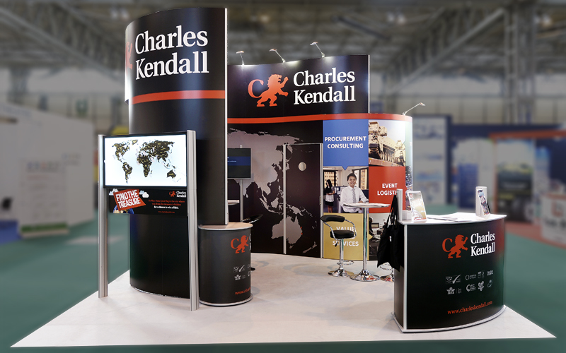 Charles Kendall Exhibition Stand