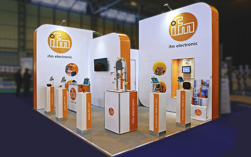 IFM Exhibition Stand