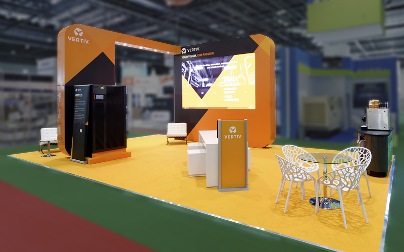 ISOframe Custom Exhibition Stand - 10m x 6m