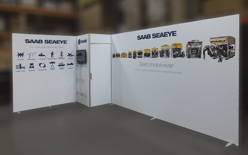 ISOframe Fabric Exhibition Stand