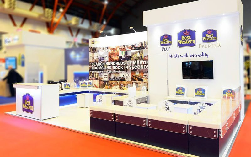 Best Western Exhibition Stand