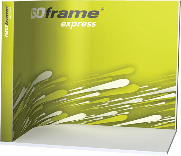Medium Sized ISOframe Express Pop-up Stand
