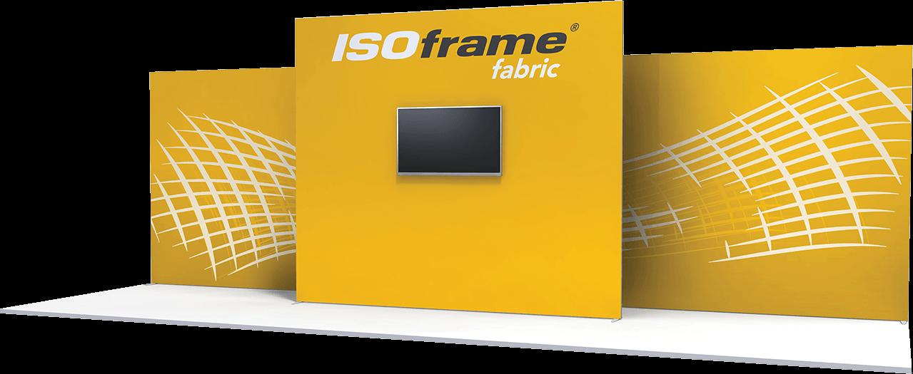 Large Sized ISOframe Fabric Stand