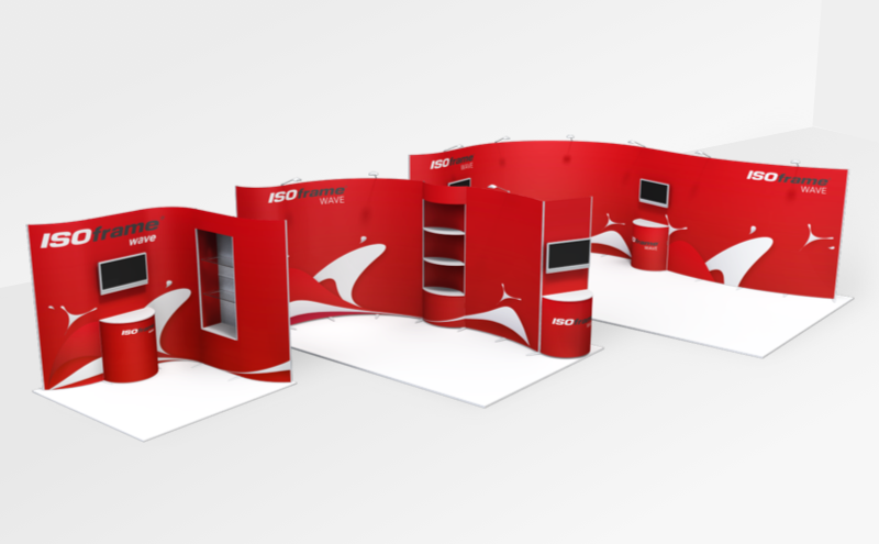 Resizable Exhibition Stand