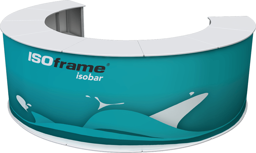 Horseshoe Shaped ISOframe ISObar Counter
