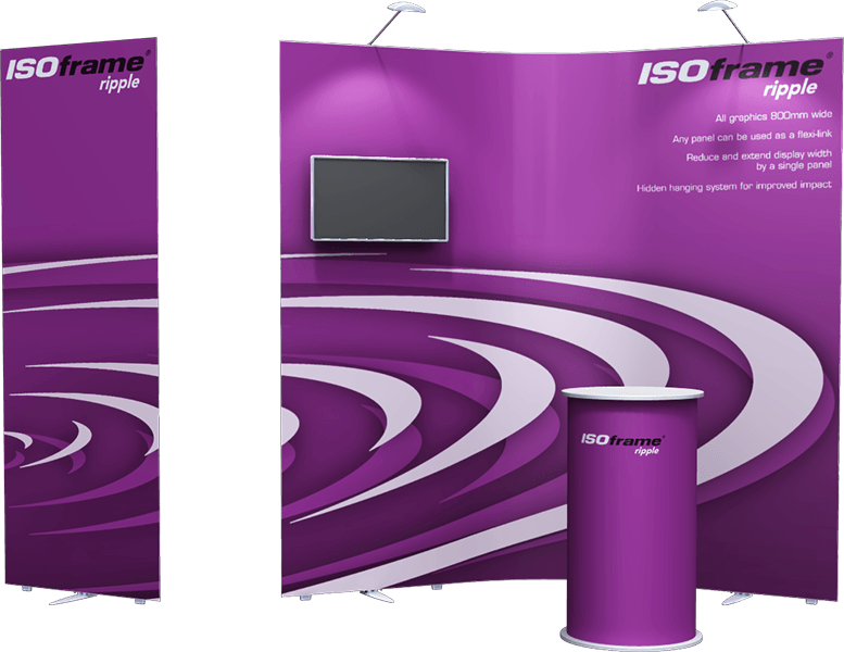 ISOframe Ripple Exhibition Stand