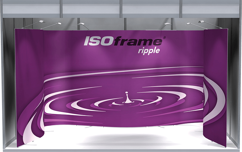 Large Sized ISOframe Ripple Stand