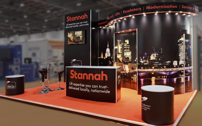 ISOframe Custom Exhibition Stand