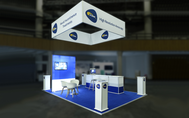 ISOframe Lightbox Exhibition Stand