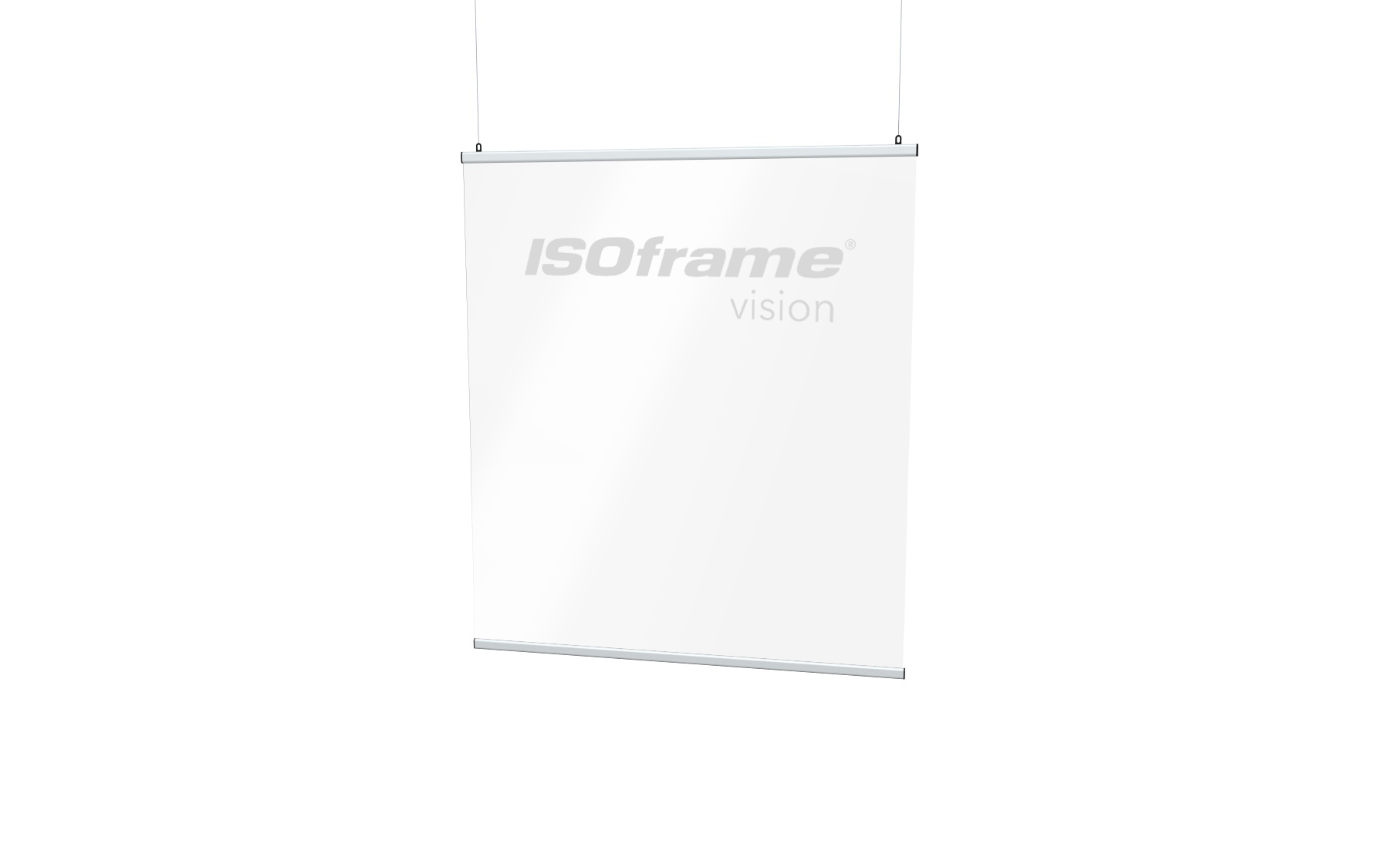 ISOframe Vision Suspension Screen