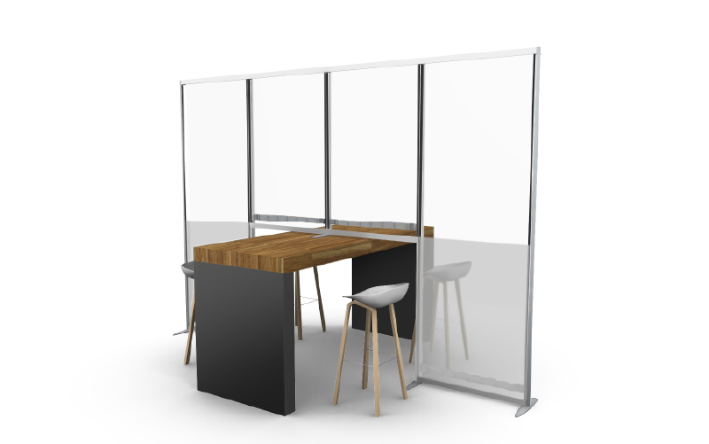 ISOframe Vision Office partitions and dividers