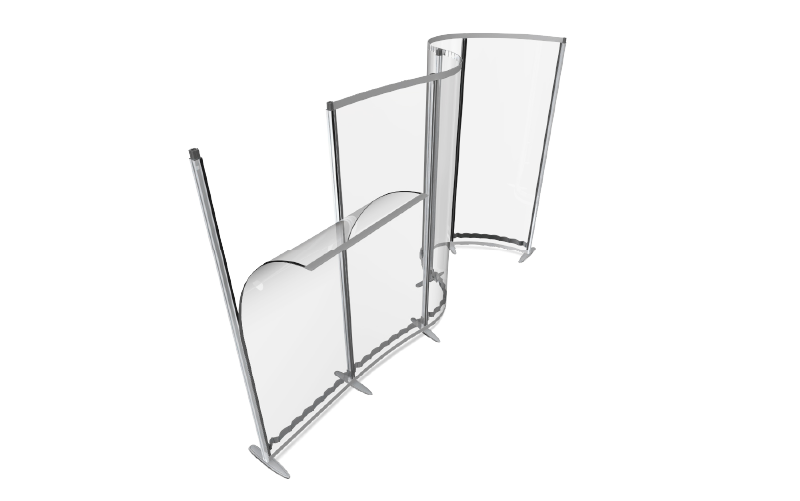 Office Protection Screens You Can Bend And Flex