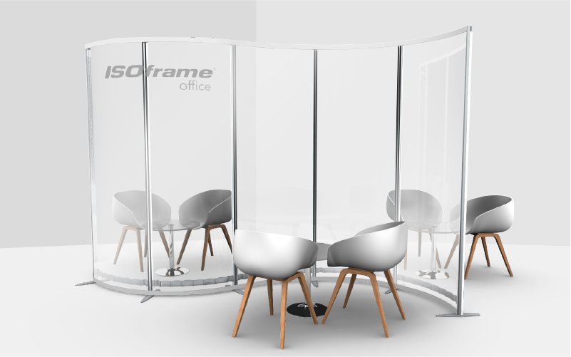 ISOframe Office Office partitions and dividers