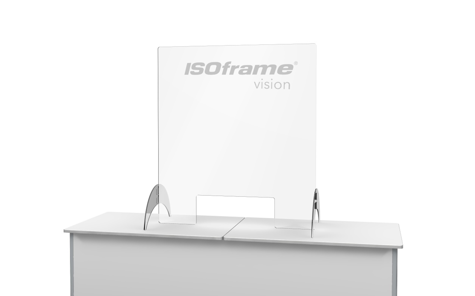 Hygienic Free Standing Counter Screen