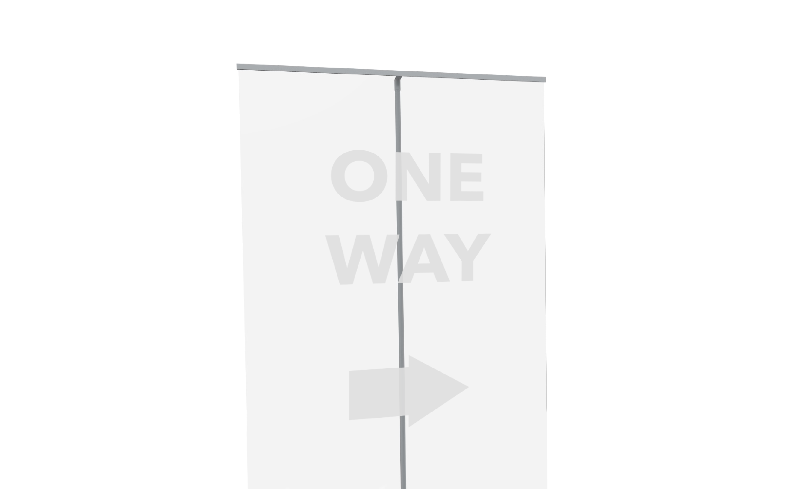 Transparent Roller Banner
