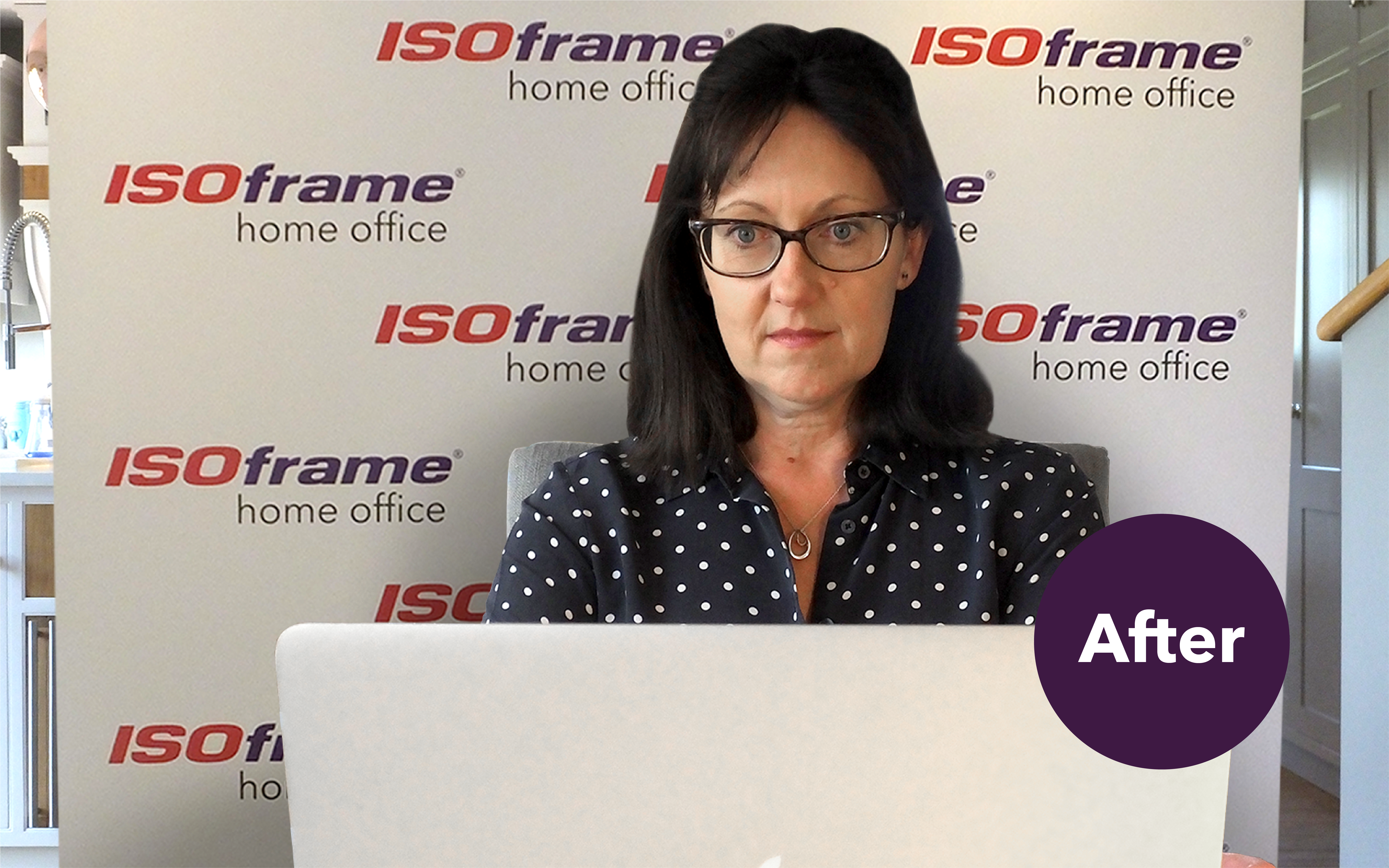 Isoframe Home Office video meeting backdrops