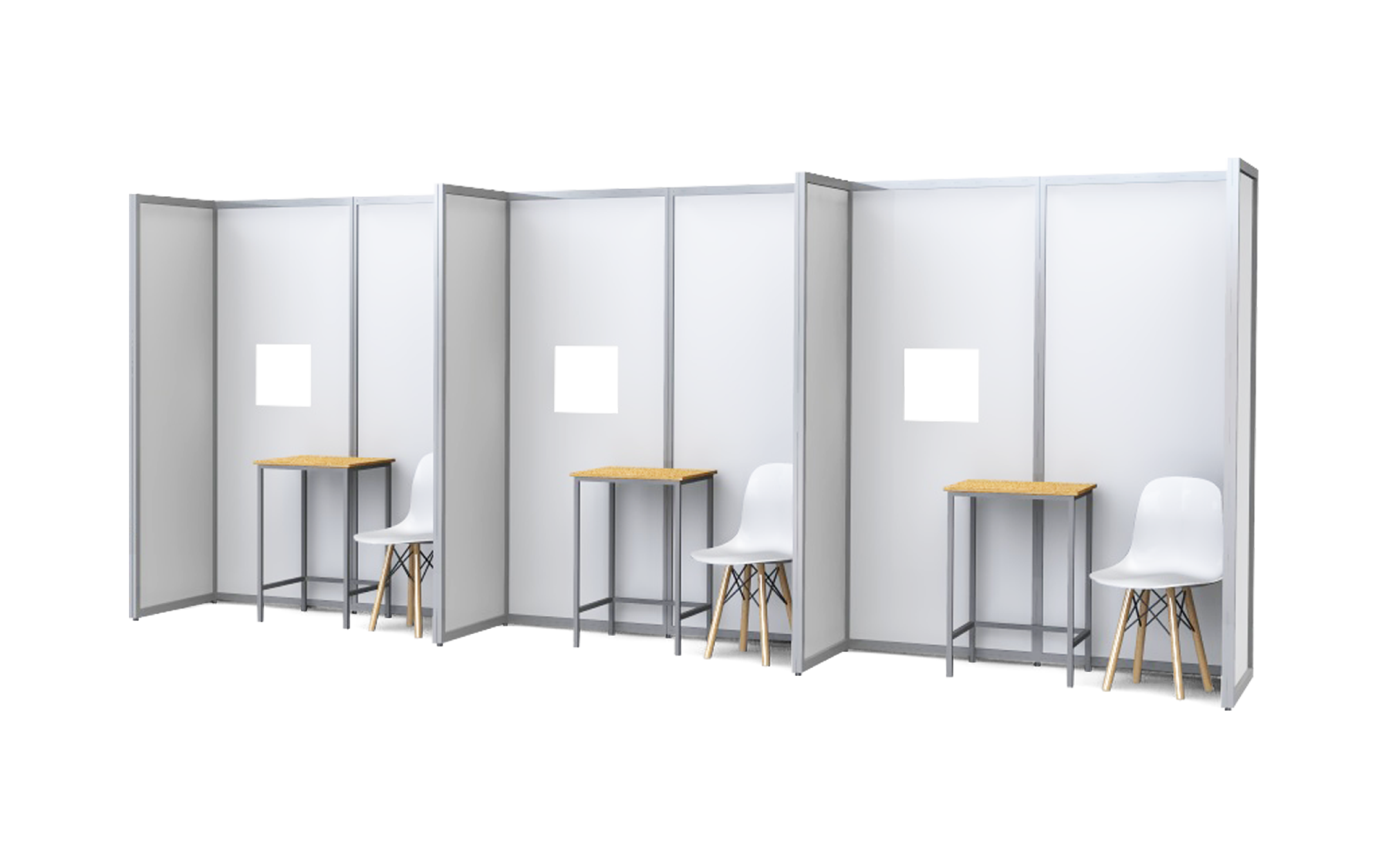 ISOframe Covid Testing Booths