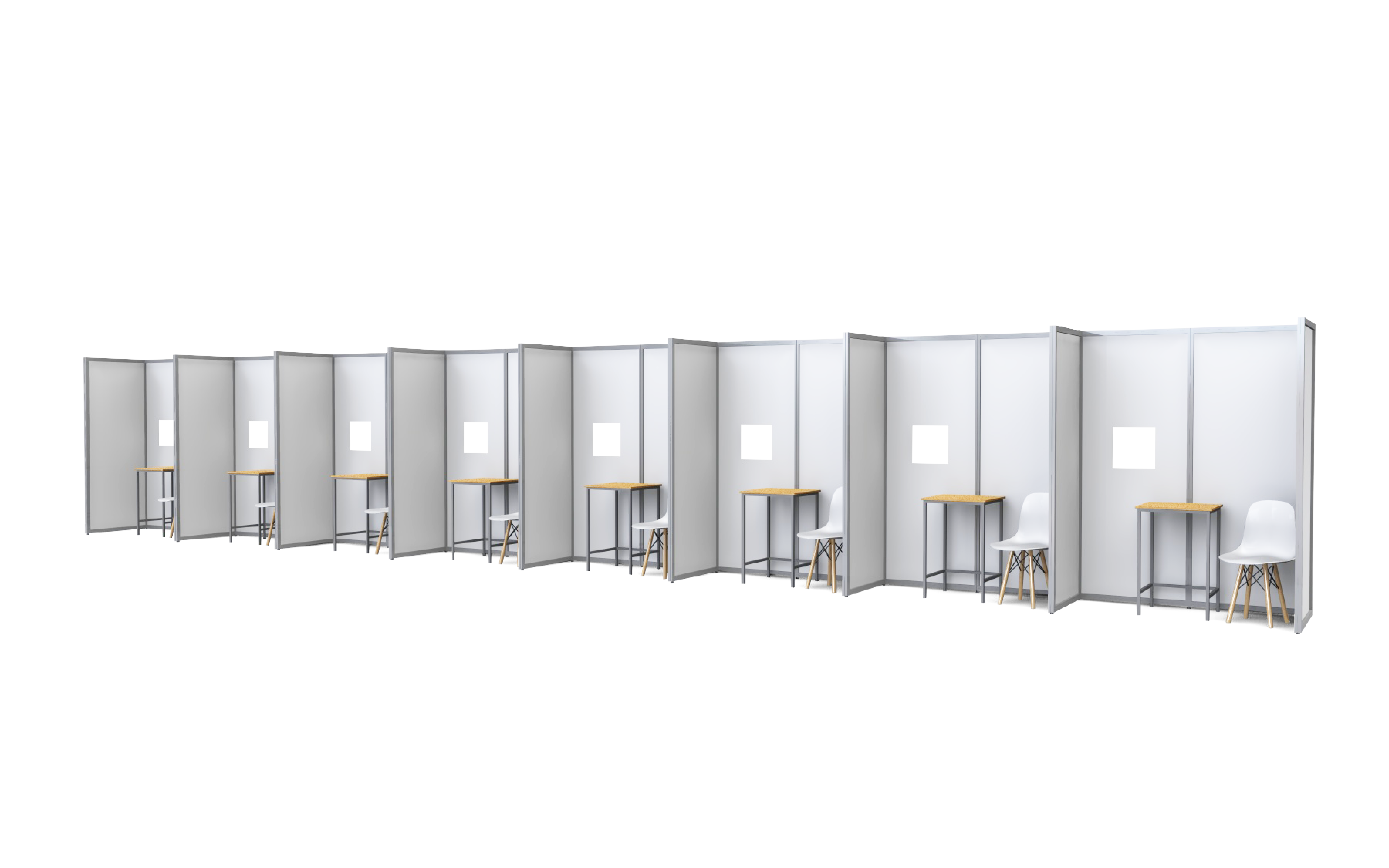 ISOframe Covid Test Booths